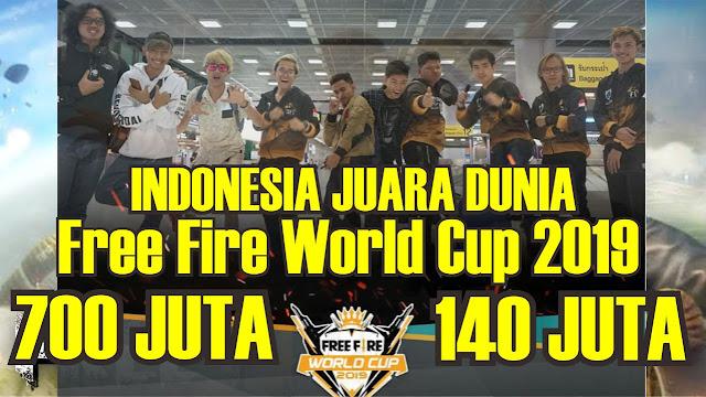 Juara Dunia Free Fire 2019