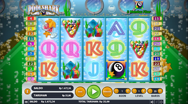 SITUS AGEN SLOT POOL SHARK GAMES HABANERO