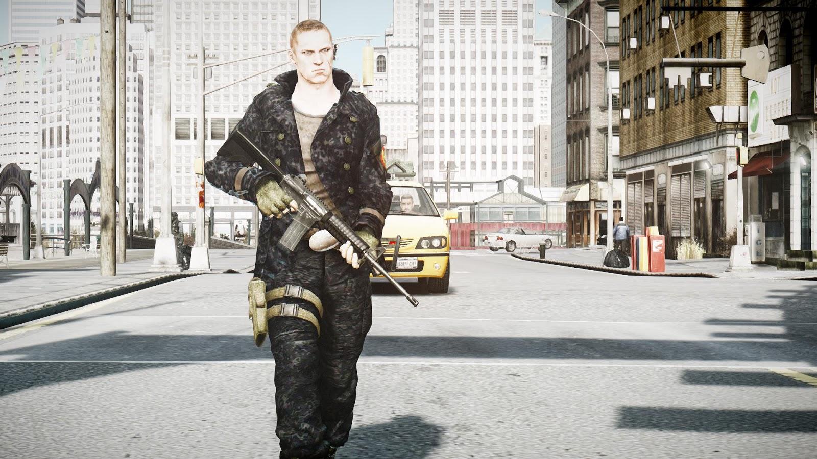 GTA 5,GTAV,GTA IV Mods and Skins: GTA IV SKINS : Resident
