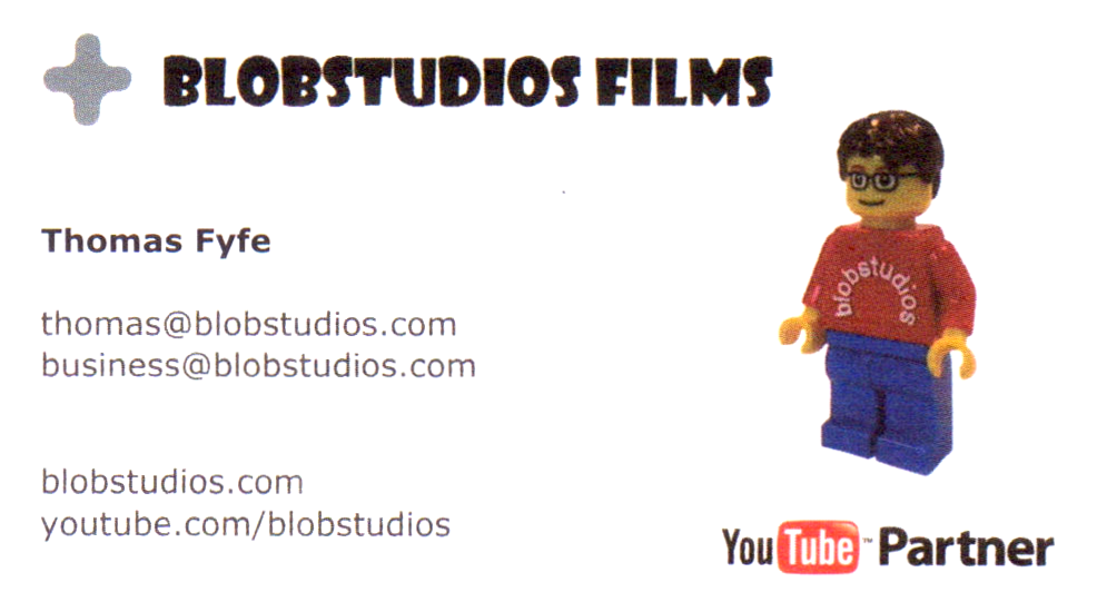 Creating a Business Card | blobstudios.com