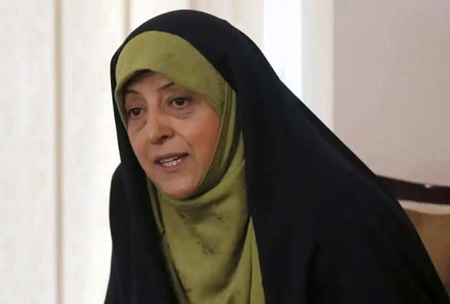 Iran's Vice President for Women and Family Affairs Masoumeh Ebtekar. PHOTO | REUTERS