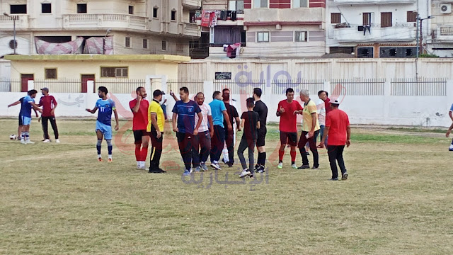 خلال المباراة