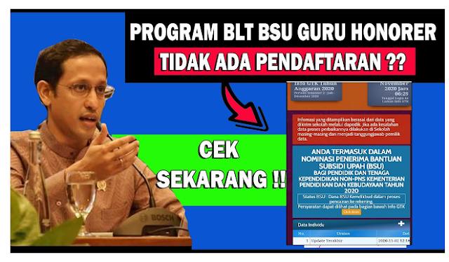 Kapan BSU Guru Honorer dan Tekdik Rp1,8 Juta Cair, Login di info.gtk.kemdikbud.go.id Cek Daftar Penerima