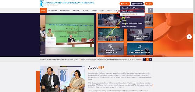 iibf exam online apply 2021, online apply iibnf exam in 2021, iibf exam online kaise karen,