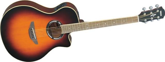 Yamaha Gitar Mini Akustik Elektrik APX-T2