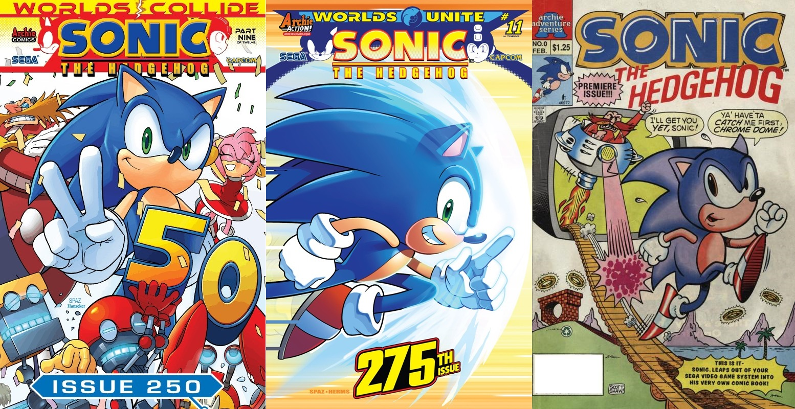 Hedgehogs Can't Swim: Archie Sonic Comic Reviews: Introduction