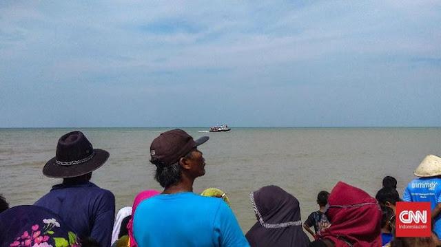 Nelayan dan Warga Karawang Sempat Dengar Suara Mirip Ledakan