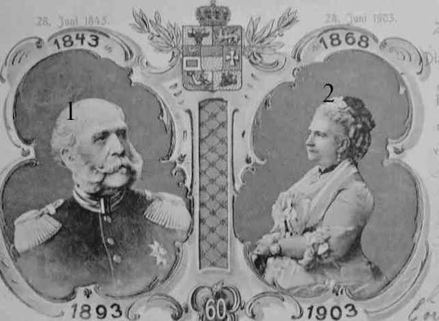 Friedrich Wilhelm (II.), Großherzog von Mecklenburg [-Strelitz]-Princess Augusta of Cambridge