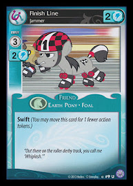 My Little Pony Finish Line, Jammer Premiere CCG Card