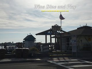 The Merry Pier in Pass-a-Grille Beach, Florida is across the street from the Seahorse Restaurant