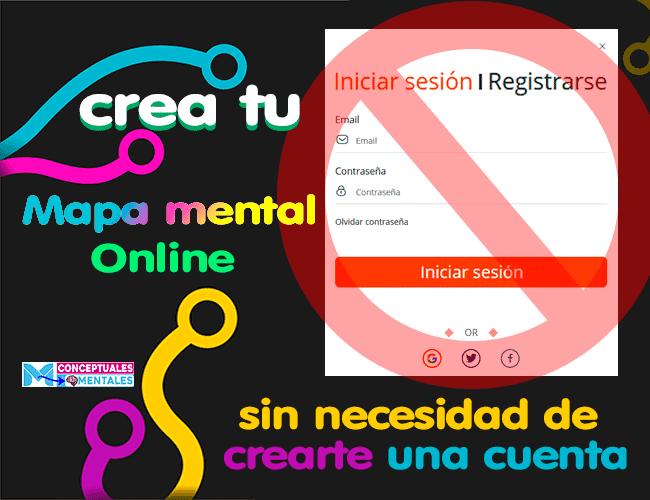 crear mapa mental online gratis sin registro