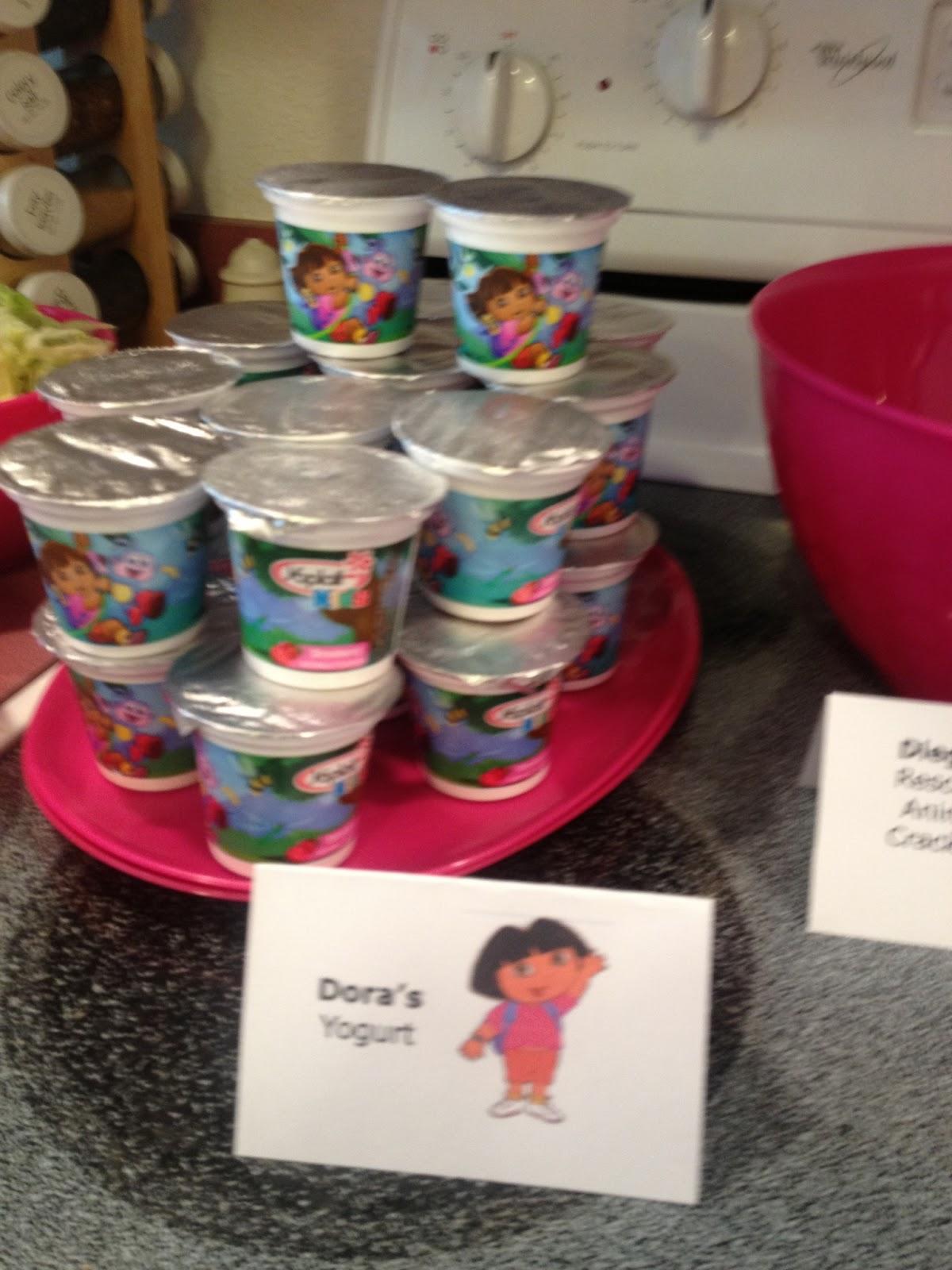 Teach Academy Dora The Explorer Birthday Party The Food
