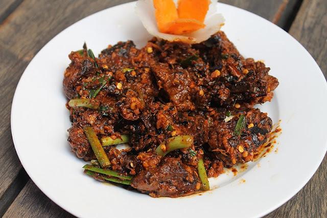 Newari Style Spicy Choila