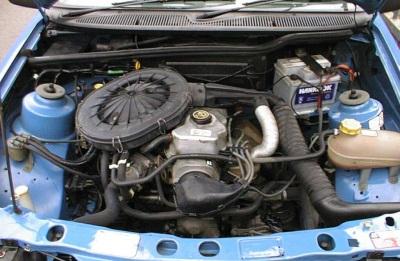 Двигатель 1800 CVH с карбюратором: