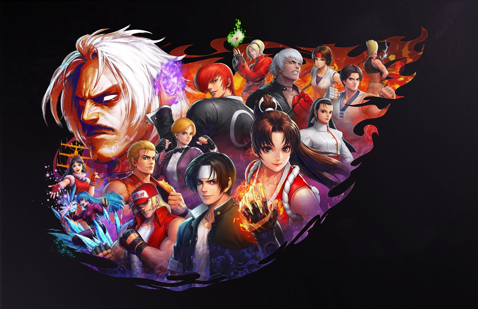 Blood Work Top Ten King Of Fighters Characters