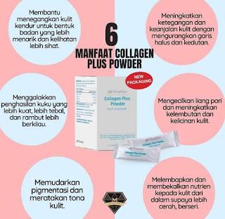 Manfaat Collagen Plus Powder Shaklee
