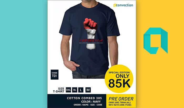 Contoh Desain Kaos 17 Agustus Ke 74 Tahun 2019 Harga Murah