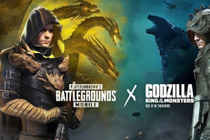 Update Terbaru 0.13.0 PUBG Mobile x Godzilla: King Of The Monsters