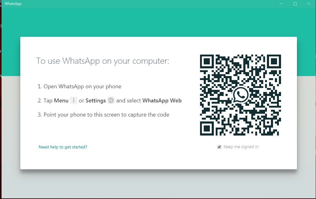 WhatsApp Portable For Windows