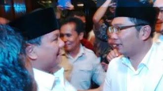 Bertemu Prabowo, Ridwan Kamil: Saya Minta Maaf...