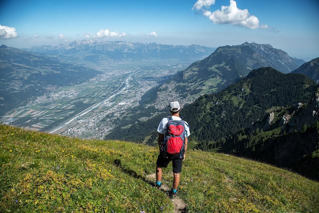 Bergtour Rappenstein von Steg  Wandern Fürstentum Liechtenstein 09