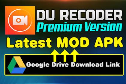 DU Recoder Pro APK Latest Premium Version Free Download 2020