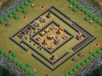 Goblin Base Clash of Clans Steel Gauntlet