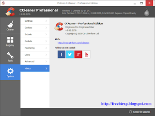 CCleaner Professional Edition v5.05.5176 With License Key