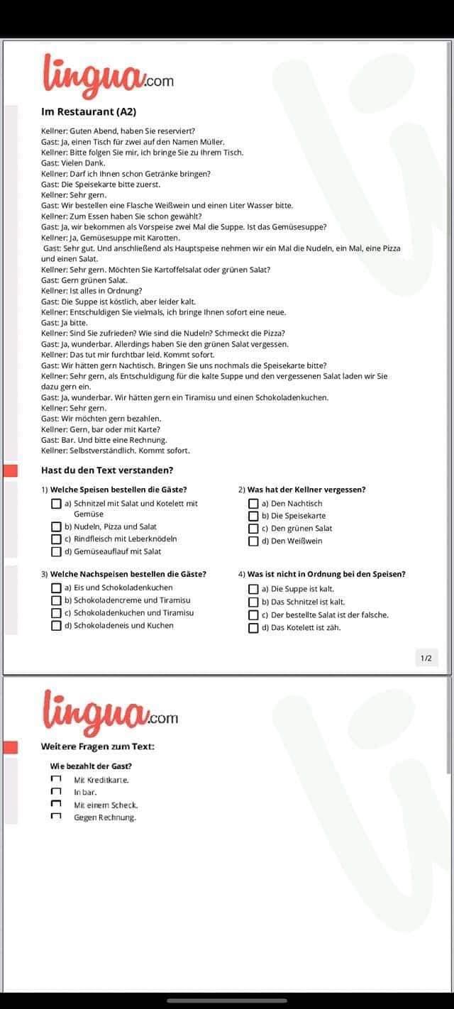 المراجعة النهائية لغة المانية الثانوية العامة 2021 7