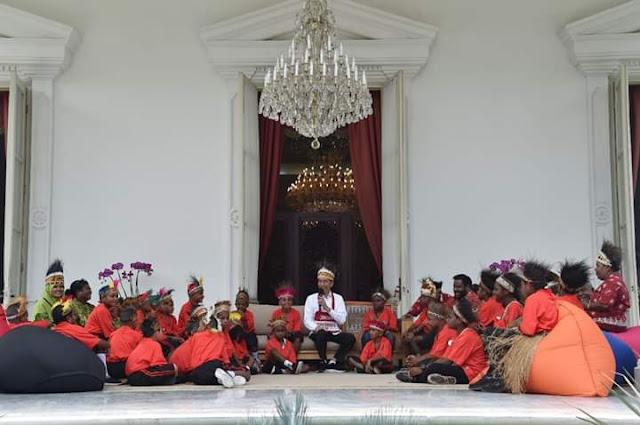 Presiden Jokowi Penuhi Janji, Sejumlah Anak Papua Diajak ke Istana