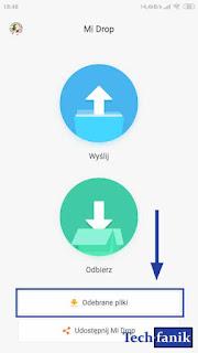 Xiaomi ShareMe Gdzie znaleźć odebrane pliki?