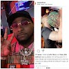 DAVIDO GAVE ZALTAN HIS 40 THOUSAND DOLLARS NECKLACE, IN DUBAI,( WATCH THE VIDEO).