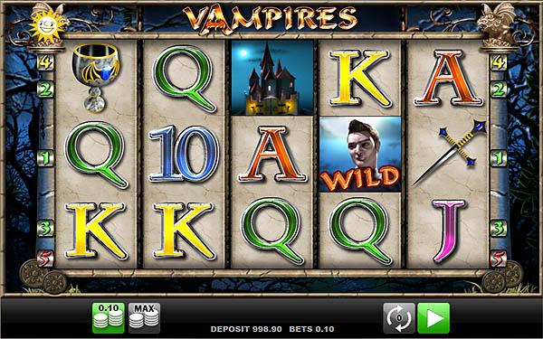 Main Gratis Slot Indonesia - Vampires Merkur Gaming