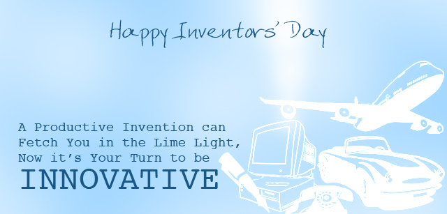 The National Inventors Day 2017