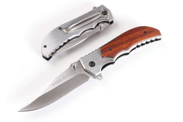 94507870a8f 2015 Newest SOG Folding FA20 Knife 5CR13MOV Blade Drawing Light Surface  Camping Knife For Hunting With steel & wood Handle