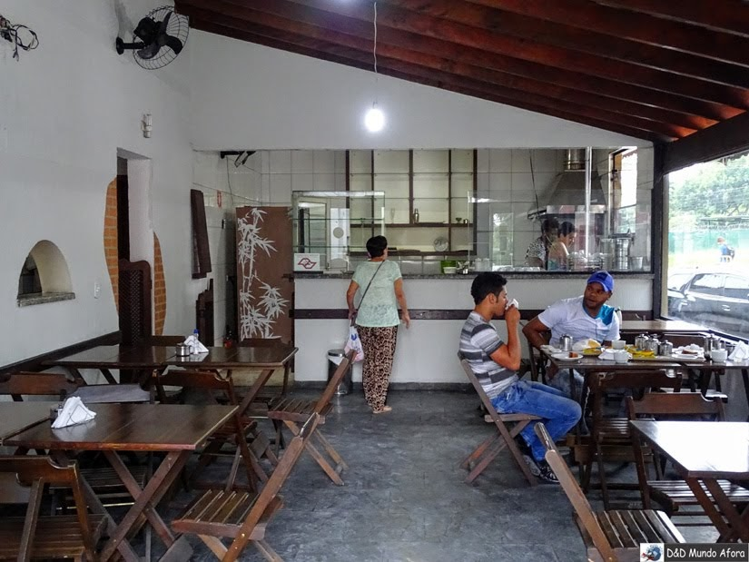 espaço do café da manhã - Onde ficar em São Paulo - Review hotel Lua Nova