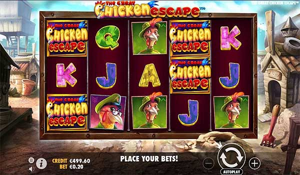 Main Gratis Slot Indonesia - The Great Chicken Escape (Pragmatic Play)