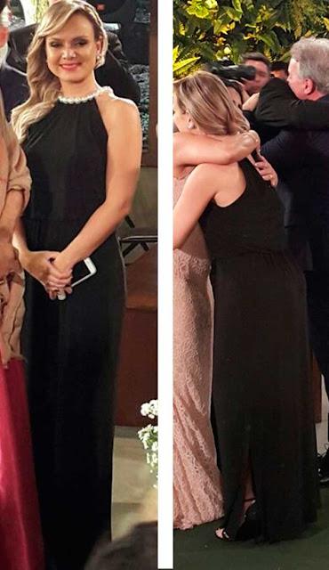 Vestido preto da Eliana, Casamento Grechen e Carlos