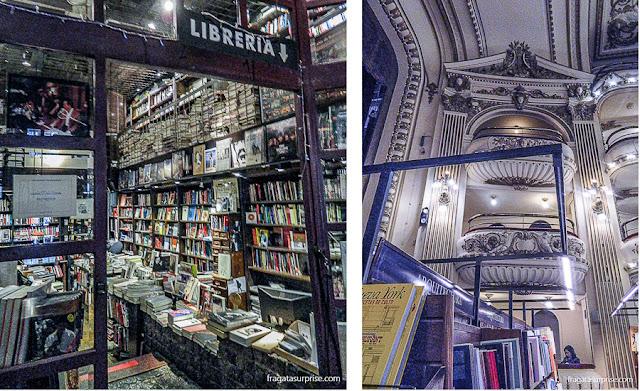 Livrarias Clásica y Moderna e El Ateneo, Buenos Aires