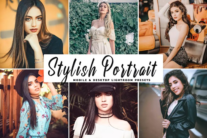 [Chia sẻ Preset Free] Stylish Portrait Pro Lightroom Preset