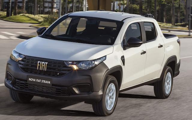 Nova Fiat Strada Endurance - aluguel - Unidas
