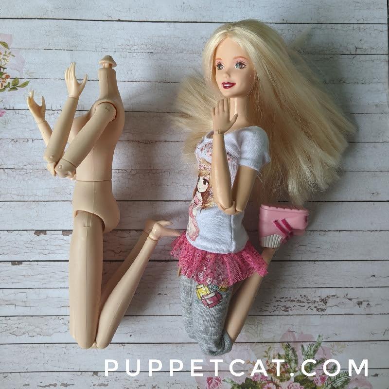 сравнение с Барби скинтон ностальжик