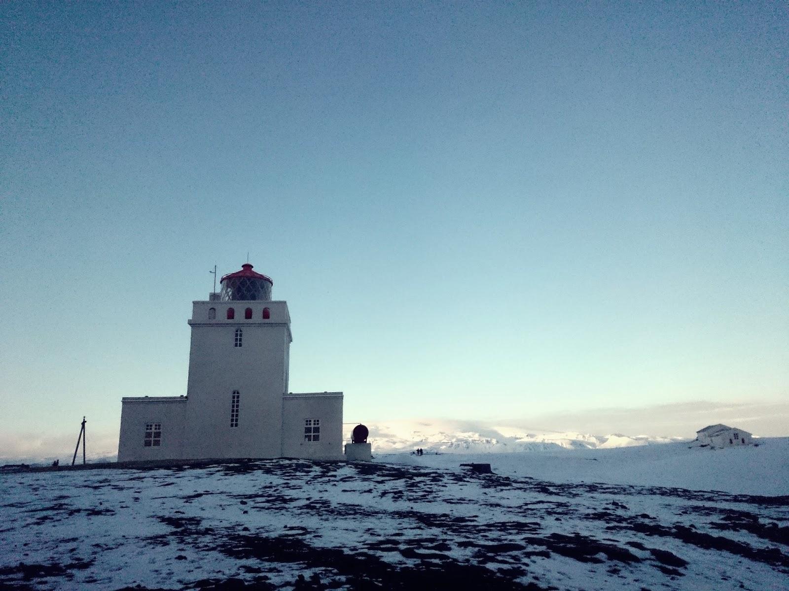 Latarnia na Dyrholaey, latarnia morska, Dyrholaey, Islandia, panidorcia, blog o Islandii
