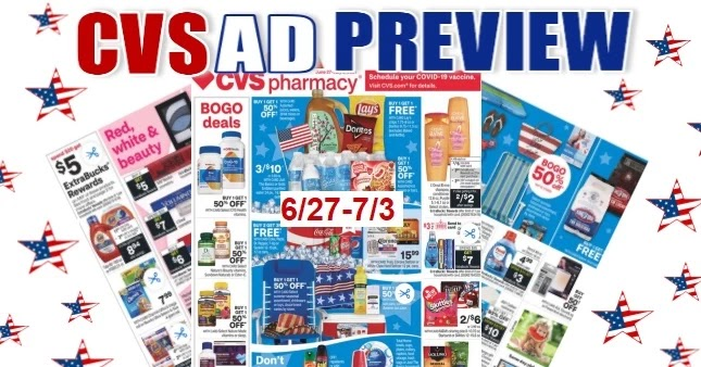 CVS Ad Scan 6/27 to 7/3