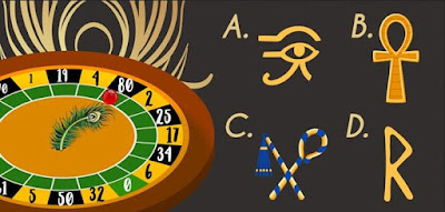 Q 13. Ancient Egyptians used symbols in their hieroglyphs. Which of these is NOT a symbol of Egypt?
