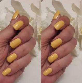 pastel hüzün sarısı oje
