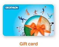 Logo Vinci gratis una Gift Card Decathlon da 15 euro! Come partecipare