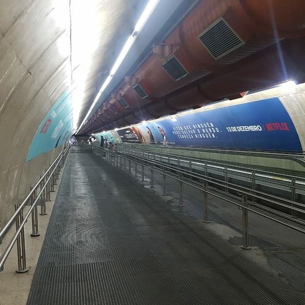 Metrô de SP termina antecipadamente as obras de ampliação do corredor entre as estações Consolação e Paulista