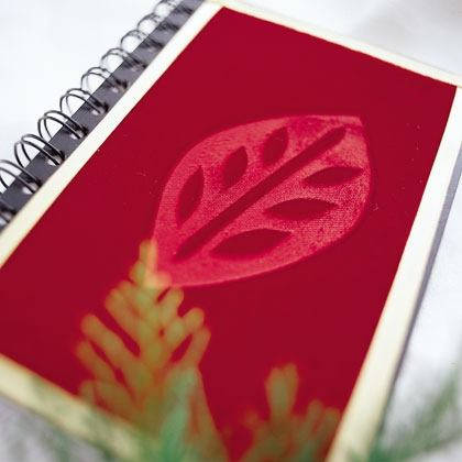 Craft: Velvet Journal