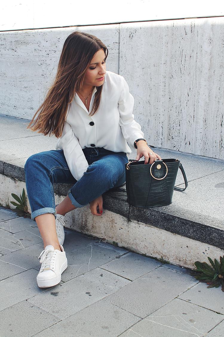 look camisa blanca vaqueros blog de moda